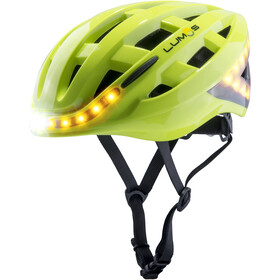 Lumos Kickstart Helm electric lime